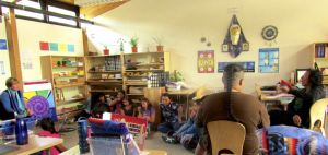 Timespirals and Stories at the Southern Ute Indian Montessori Academy